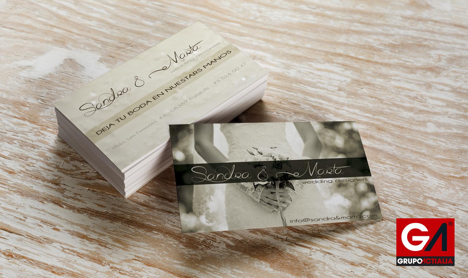 Tarjetas Visita Estándar · Impresión · Imprenta